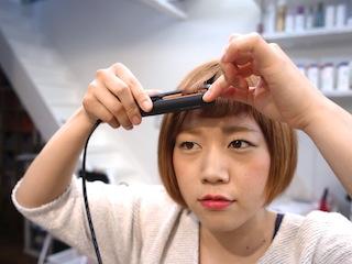 RICCA HAIR DESIGN 前髪スタイリング