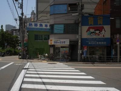中崎町美容室 RICCA 道順 アクセス