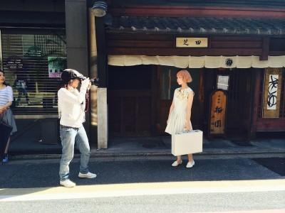 中崎 美容室 京都撮影