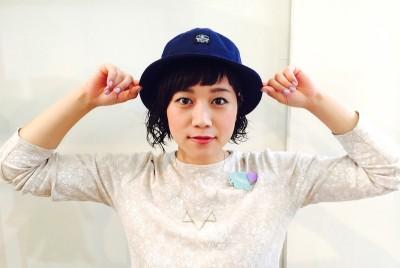 中崎 美容室 帽子 ヘア