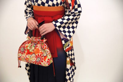 大阪 レンタル 着物 袴 卒業式 ヘアセット