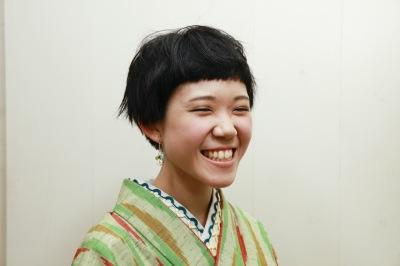 中崎町 美容室 RICCA 短い 前髪 カット