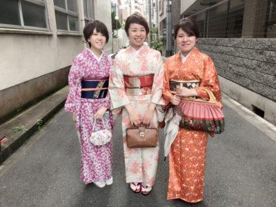 着物 kimono レンタル 大阪