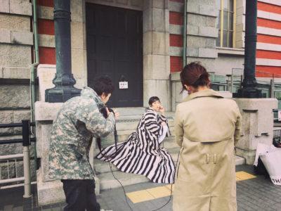 大阪 中崎町 美容室 RICCA  KIMONO kimono 撮影