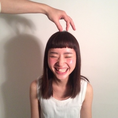 中崎町 美容室 RICCA ヘアカタログ 短い 前髪