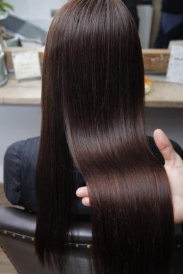 縮毛矯正 酸性縮毛矯正 ストレートヘア