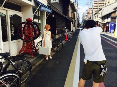 中崎 美容室 京都 撮影